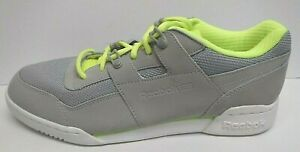 Reebok Size 10 Gray Sneakers New Mens Shoes