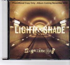 (FT527) Magazine Gap, Light & Shade - 2010 DJ CD