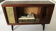 VINTAGE LUNDBY/BARTON STEREO RECORD PLAYER DOLLS HOUSE FURNITURE