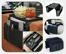 NEW 6 POCKET ARM REST ORGANISER CHAIR COUCH SOFA TABLE TOP HOLDER ORGANISER TRAY