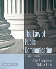 Law of Public Communication by Kent R. Middleton and William E. Lee (2013, Paper