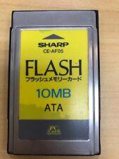 Sharp CE-AF05 Flash Memory ATA PC Card 10MB
