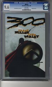 300 # 2 Wraparound Cover - CGC 9.6 White Pages - Frank Miller Story & Art