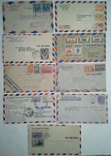 South America 1940s-1960s Cover Collection w/Airmails, Multifranked & Registered