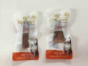 Applaws Cat Beef Fillet Loin 100% Natural 20g X 2 Free Delivery