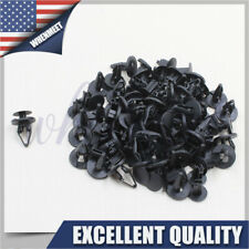 50 X Cowl Fender Nylon Liner Clips Push Pin Retainer For Ford Hummer GM Torrent