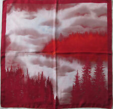 LANCEL   foulard 100% soie  en TBEG vintage  88 x 88 cm