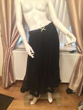 Full Length Chiffon Petite Maxi Skirts for Women