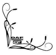 DAF CF SIDE Window Decalcomanie Adesivi x 2