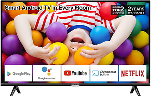 TCL 32P500K 32-Inch LED Smart Android TV HD, HDR, Micro Dimming, Netflix, DVB 2