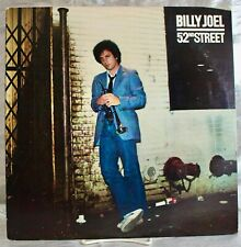 Lp: Billy Joel~52nd Street~Columbia~1978~Jazz , Rock, Pop, Ballad