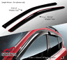 Vent Shade Window Visors 3DR Ford Focus 00-04 2000-2002 2003 2004 2pcs ZX3 ZX5