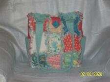 Moda Gypsy Soul Unique Rag Quilt DiaperBag Bag Tote Purse Great Gift SMALL