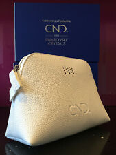 CND Shellac Swarovski Crystals LIMITED EDITION Cosmetic Makeup Toiletry Bag