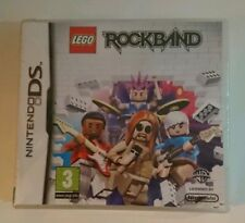 LEGO ROCKBAND - NINTENDO DS - NDS - NEW - FREE UK P&P