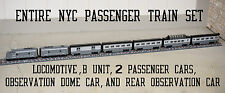 Custom Lego NYC New York Central Passenger Train NEW 10020 10025 10219 10194