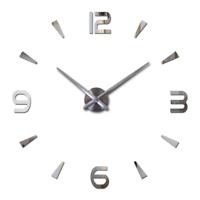 2018 new wall clock quartz watch reloj de pared modern design large decorative c