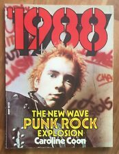 1988 - The New Wave Punk Explosion by Caroline Coon UK 1977 SB