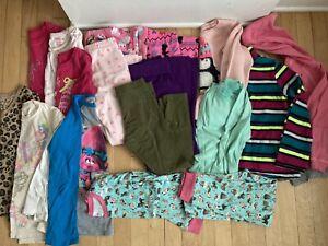 Girls Clothes Lot Size 6/6X Winter 17 Pcs Tops Bottoms Pjs