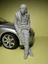 FIGURINE  1/18  FAST  AND  FURIOUS  MR  HAN  VROOM  POUR  MINICHAMPS  MATTEL