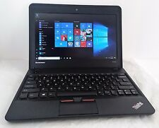 "Lenovo ThinkPad X131e 11.6"" Netbook AMD E2-1800 1.7GHz 4GB 320GB HDD Windows 10"