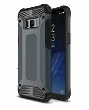Samsung Galaxy S8 HEAVY DUTY HARD ARMOR SHOCKPROOF CASE Full Body Dual Layer