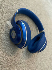 BEATS DR DRE STUDIO 2 WIRED HEADBAND HEADPHONES - BLUE WIRED