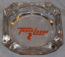 VINTAGE OLD 1960 TRAVEL LODGE TRAVELODGE SLEEPY BEAR MASCOT ADVERTISING ASHTRAY