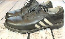 Mens ADIDAS TOUR METAL Torsion golf shoes Size 9.5 M 737096 black BG1