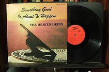 The Heaven Heirs rare Christian gospel music lp record Waynesboro Virginia