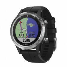 Reloj Pulsera Garmin Fenix 5 PLUS GRIS Correa Negra GPS, Relojes y Pulseras Depo