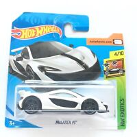 Hot Wheels McLAREN P1 White HW Exotics Car Toy Brand NEW