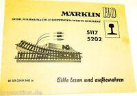 5117 5202 Märklin Guide 68 505 Onn 0465 Ju Å