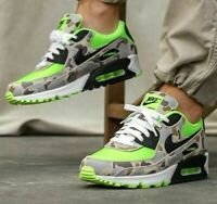 Nike Air Max 90 Duck Camo - Ghost Green / Black - Sizes 3-11UK CW4039-300