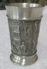 Vintage 95 % Pewter Zinn Becker Stuttgart Cup Stein Germany