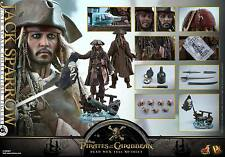 Hot Toys DX15 Pirates of the Caribbean: Dead Men TNT 1/6th Jack Sparrow Figure