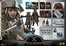 Hot Toys DX15 Pirates of the Caribbean: Dead Men TNT 1/6th Jack Sparrow Figure