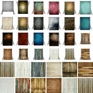 Wood Tie-Dye Plank Photography Cloth Fabric Wall Backdrop Studio Background Prop