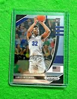 JAMES WISEMAN PRIZM SILVER CHROME ROOKIE CARD JERSEY#32 MEMPHIS RC WARRIORS 2020