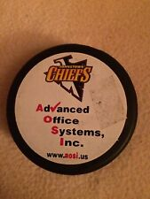 Johnstown Chiefs Official Hockey Puck