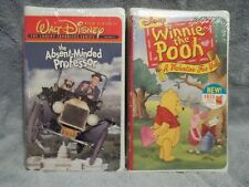VHS Video of the Absent-Minded Professor from Walt Disney. New/unopened