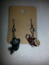 Handmade with Gorilla and Monkey charms Earrings WEBKINS brand