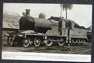 "New ""Standard"" Passenger Locomotive, Royal Train Bombay India, LPC No.342."