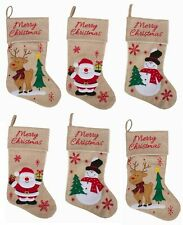Imperial Home 3 Pc Christmas Stockings