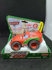 Disney CARS Lightning McQueen Shake N Go  2009 Target exclusive winter holiday