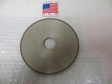 "6"" x 1/4"" x 1-1/4"" 1A1 Straight Diamond Grinding Wheel 150 Grit, 100 Con. New US"
