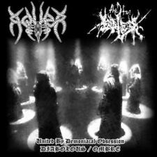 """Aquer/The True Endless """"United By Demoniacal...""""  7"""" [2 x Occult Black Metal]"""