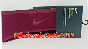 New Nike Fleece Headband Double Layer Running Workout Exercise Training Crossfit