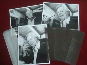 CARTOONEST TONY HART B & W PRESS PHOTOGRAPHS with NEGATIVES
