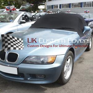 BMW Z3 SOFT TOP ROOF HOOD HALF COVER - BLACK - 100